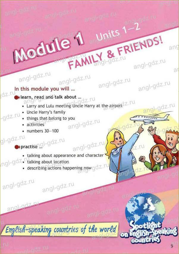 Module 1. Family and Friends! - 1