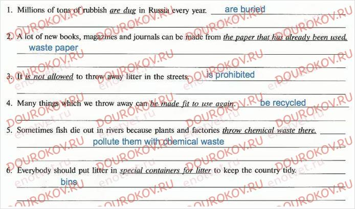 Рабочая тетрадь Enjoy English 8 класс Биболетова - Unit 2. The World`s Best Friend Is You. Section 4 - 2